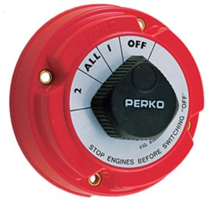 perko marine boat battery switches