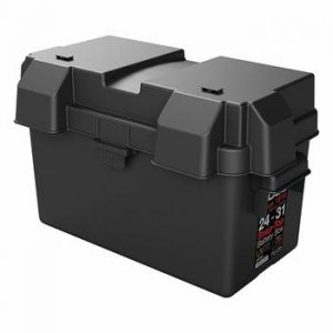 12v marine battery case