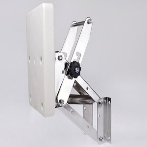 trolling motor bow mount bracket