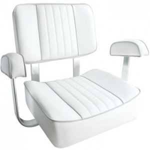 Leader Accessories White Captain's Seat Boat Seat reviews