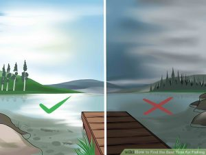 check weather before fishing